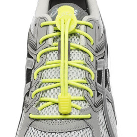 Lock Laces Run Laces giallo